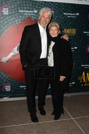 """Photo for Barry Bostwick, Sherri Jensen at the """"Amelie, A New Musical"""" Opening, Ahmanson Theater, Los Angeles, CA 12-16-16 - Royalty Free Image"""