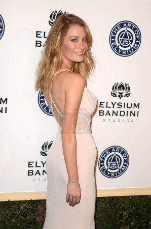 Photo for Actress Ashley Hinshaw at the Art of Elysium 10th Annual Black Tie Heaven Gala, Red Studios, Los Angeles, CA 01-07-17 - Royalty Free Image