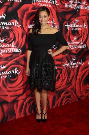 Photo for Celebrity Kristin Smith at the Hallmark Winter TCA Event, Tournament House, Pasadena, CA 01-14-17 - Royalty Free Image