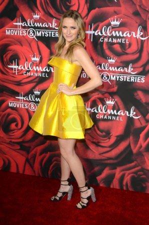 Photo for Actress Shantel VanSanten at the Hallmark Winter TCA Event, Tournament House, Pasadena, CA 01-14-17 - Royalty Free Image