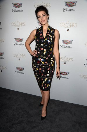 Actress Jessica Pare at Cadillac Hosts their Annua...