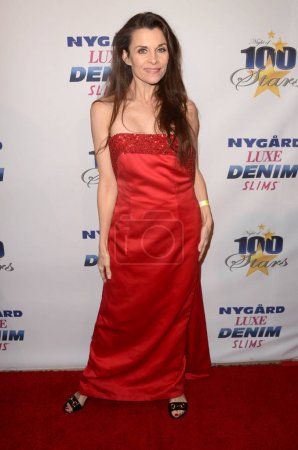 Alicia Arden at the Night of 100 Stars Oscar Viewing Gala