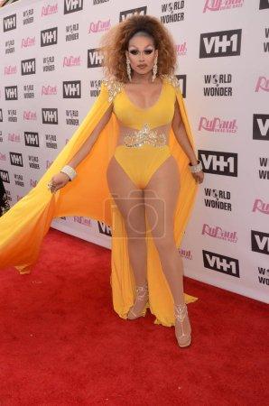 Drag performer Mariah Balenciaga