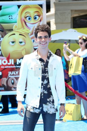 Photo for Actor Cameron Boyce at the premiere of The Emoji Movie, Village Theater, Westwood, CA 07-23-17 - Royalty Free Image