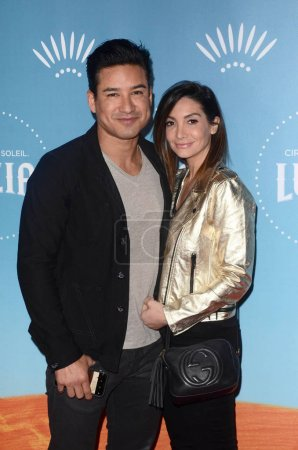 Mario Lopez Courtney Laine Mazz