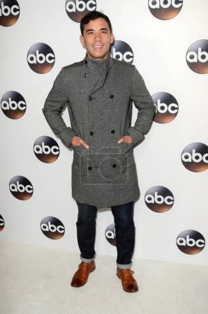 Photo pour Conrad Ricamora à l'ABC Winter TCA All Star Party, The Langham Huntington, Pasadena, CA 01-08-18 - image libre de droit