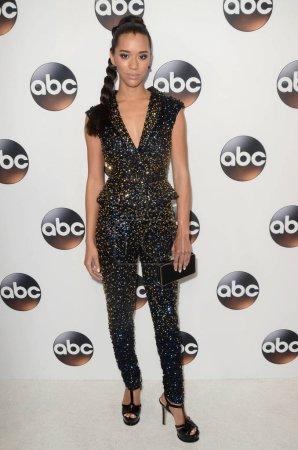 Photo pour Jasmin Savoy Brown à l'ABC Winter TCA All Star Party, The Langham Huntington, Pasadena, CA 01-08-18 - image libre de droit