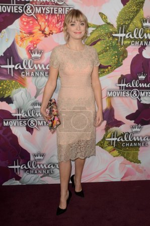 Photo for Britt Irvin at the Hallmark Channel and Hallmark Movies and Mysteries Winter 2018 TCA Event, Tournament House, Pasadena, CA 01-13-18 - Royalty Free Image