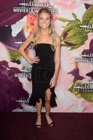 Photo for Cassidy Gifford at the Hallmark Channel and Hallmark Movies and Mysteries Winter 2018 TCA Event, Tournament House, Pasadena, CA 01-13-18 - Royalty Free Image