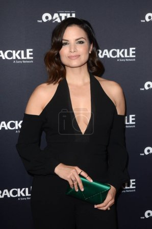 """Photo for Katrina Law at Crackle's """"The Oath"""" Photo Call, The Langham, Pasadena, CA 01-14-18 - Royalty Free Image"""