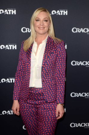 """Photo for Elisabeth Rohm at Crackle's """"The Oath"""" Photo Call, The Langham, Pasadena, CA 01-14-18 - Royalty Free Image"""