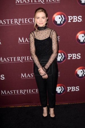 """Photo for Willa Fitzgerald at the """"Little Women"""" Photocall 2018 TCA Winter,  Langham Hotel, Pasadena, CA 01-16-18 - Royalty Free Image"""