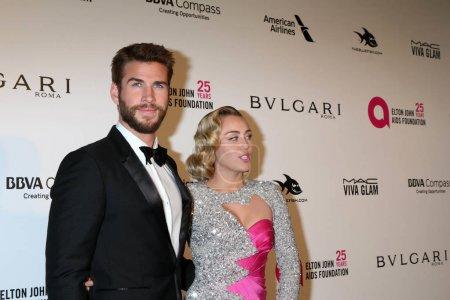 Liam Hemsworth Miley Cyrus