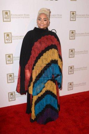 Photo pour Raven-Symone le Fonds de l'accomplissement de «Un héritage de changer des vies,» Ray Dolby Ballroom, Hollywood, Ca 13/03/18 - image libre de droit