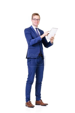 Young and confident businessman