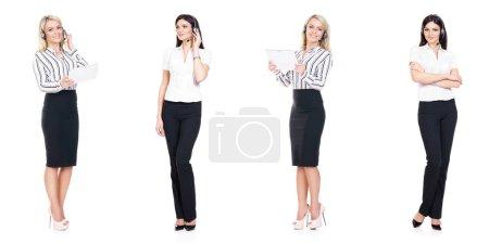 successful and beautiful businesswomen