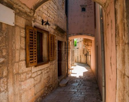 Old town of Korcula in Croatia