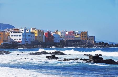 Puerto de la Cruz coast, Tenerife, Canary islands, Spain