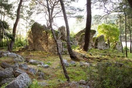 ancient ruins of Phaselis