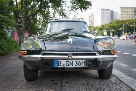 BERLIN - CIRCA JUNE, 2017: Citroen DS, French car produced in the seventies.