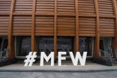 MILAN, ITALY - CIRCA SEPTEMBER, 2017: Milan Fashion Week (MFW) hashtag sign. Milan Fashion Week (Italian: Settimana della moda) is a clothing trade show held semi-annually in Milan, Italy.