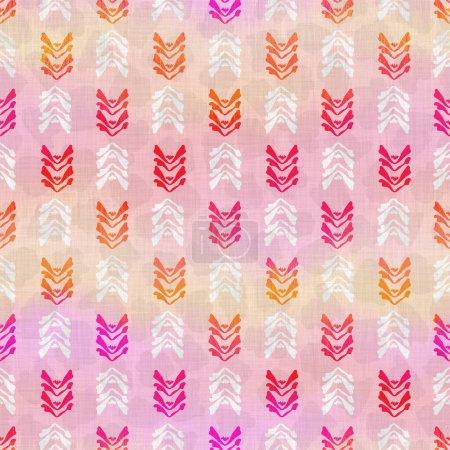 collage abstracto sin costuras textura tejida. Damasco grunge dibujado a mano sobre fondo textil de tela de lino. Estilo de efecto de color de tinte de ombre lavado. Muestra artística pintada a mano angustiada. Decoración del hogar Boho