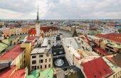 Panorama z centrální části města Olomouce