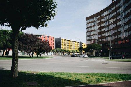 Empty street of Burgos