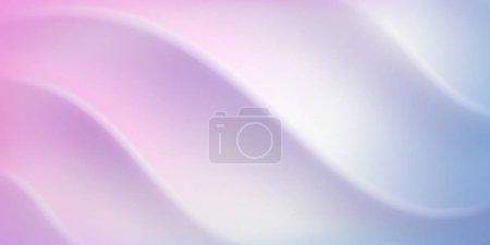 Foto de Abstract background with wavy surface in white and light purple colors - Imagen libre de derechos