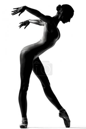 contemporary dancer woman in studio
