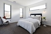 Contemporary master bedroom suite