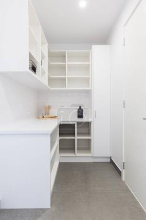 Large walk in butlers pantry storage area