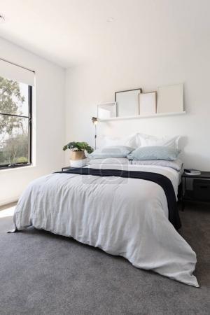 Gorgeous bedroom with luxury linen