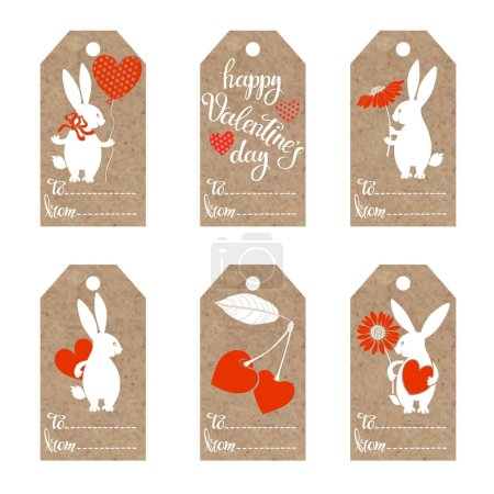 Collection of  kraft paper tags
