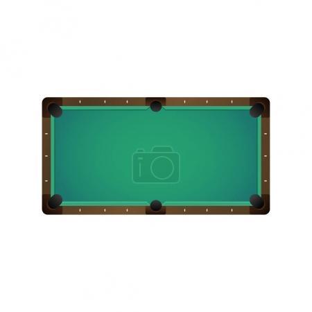 vector flat billiard pool snooker