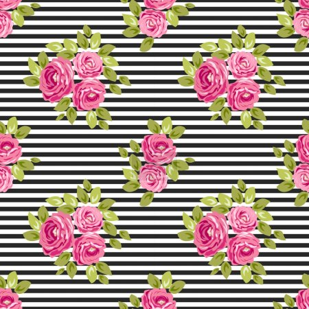 design of cute colored flowers