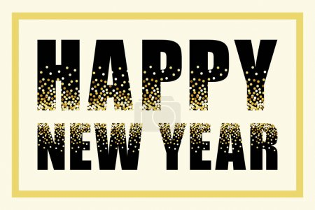 Glamour Happy New Year banner