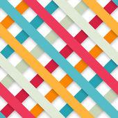 """Постер, картина, фотообои """"Абстрактный геометрический бумага"""""""