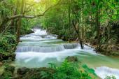 Huai Mae Khamin Waterfall level 1, Khuean Srinagarindra National Park, Kanchanaburi, Thailand