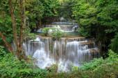 Huai Mae Khamin Waterfall tier 4, Khuean Srinagarindra National Park, Kanchanaburi, Thailand