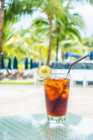 Iced cola glass