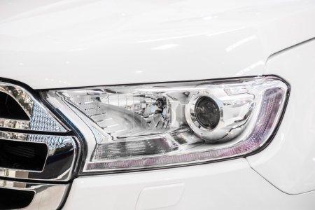 Headlights lamp car
