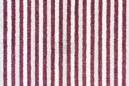 abstract red and white striped textile texture