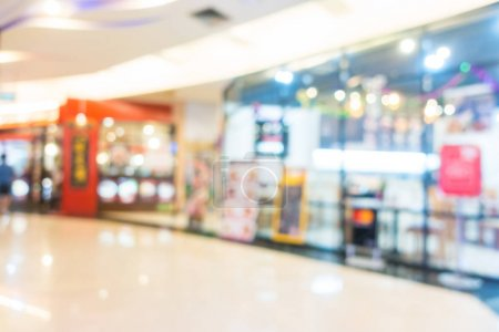 Photo for Abstract blur and defocused shopping mall in department store interior for background - Royalty Free Image
