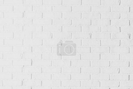 Photo pour Textures de mur de briques blanches et de surface pour le fond - image libre de droit