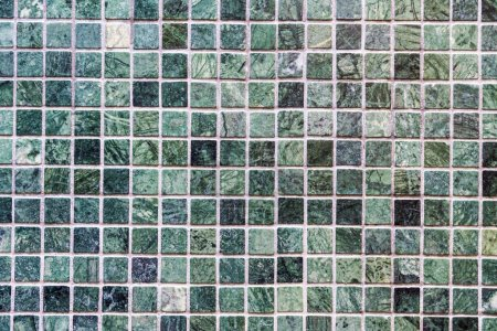 Photo for Dirty Green tiles wall textures and surface for background - Royalty Free Image
