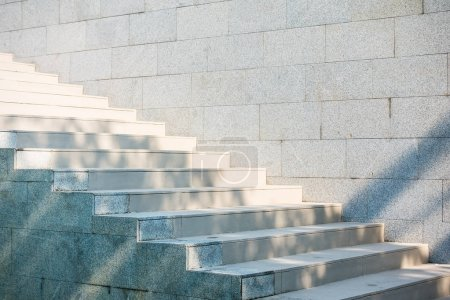 Photo for Abstract Concrete step staircase - Royalty Free Image