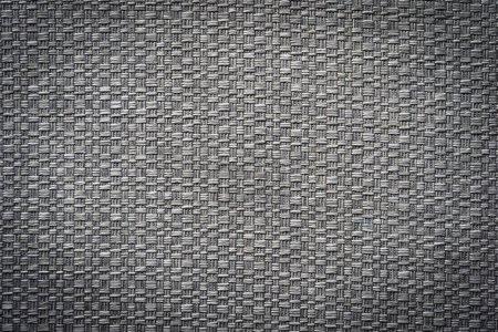 Foto de Textura de algodón de cuero gris y negro para fondo - Imagen libre de derechos