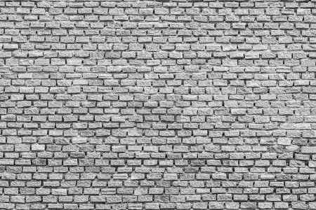 Foto de Texturas en ladrillo blanco y gris para fondo - Imagen libre de derechos