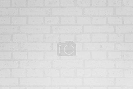 Photo pour Surface et texture du mur de briques blanches pour le fond - image libre de droit